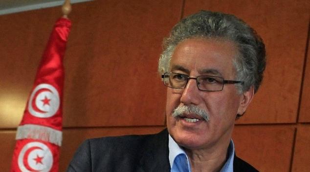 وزارة الداخلية توفر الحماية الامنية لحمة الهمامي  - Arabeque