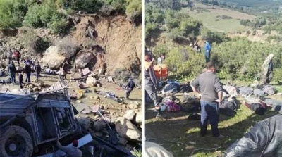 Accident de Amdoun : Le bilan s'alourdit à 28 morts