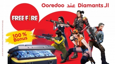 INEDIT ! Les Diamants Free Fire chez Ooredoo Tunisie