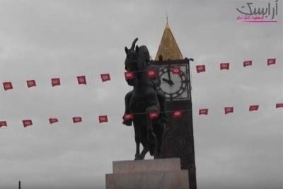 تدشين النصب التذكاري لبورقيبة وسط العاصمة