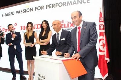 ''شال هيليكس'' تتولى تزييت سيارات ''هوندا'' في تونس