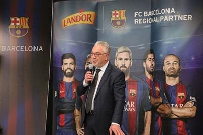 ''لاند دور'' شريك إقليمي لنادي برشلونة لمدة 3 سنوات
